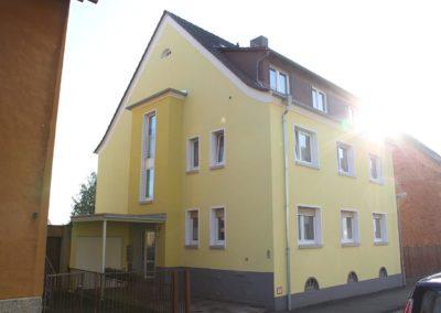Fassade gelb