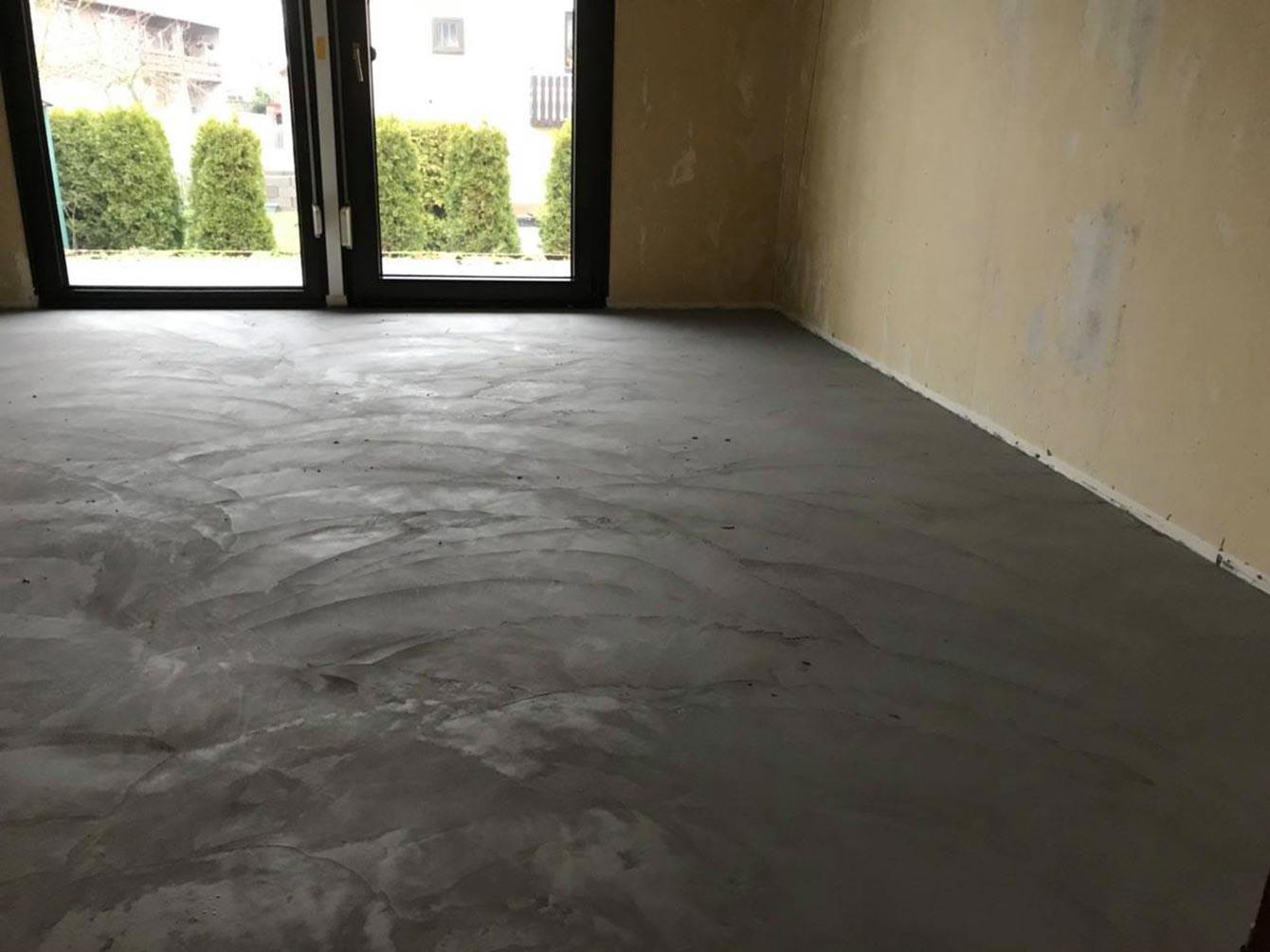 Raumgestaltung Spezialanwendungen: Beton Ciré
