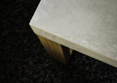 Beton-Tisch